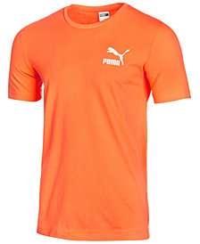 Puma Men's Tropical Printed-Logo T-Shirt