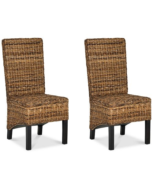 Furniture Idell Side Chair (Set Of 2), Quick Ship