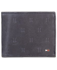 Tommy Hilifiger Men's Vaughn Leather Passcase Wallet