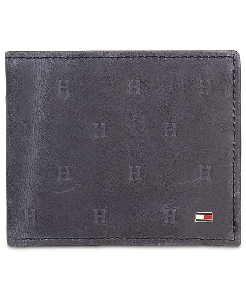 Tommy Hilfiger Tommy Hilifiger Men's Vaughn Leather Passcase Wallet