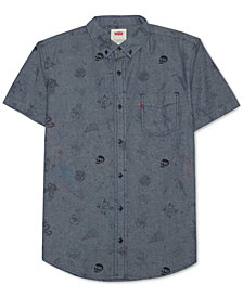 Levi's® Men's Chambray Line-Drawing Shirt