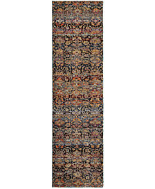 "Macy's Fine Rug Gallery Journey  Valley Multi 2'3"" x 8' Runner Rug"