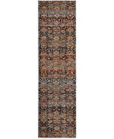 "Macy's Fine Rug Gallery Journey  Valley Multi 2'3"" x 8' Runner Rug"