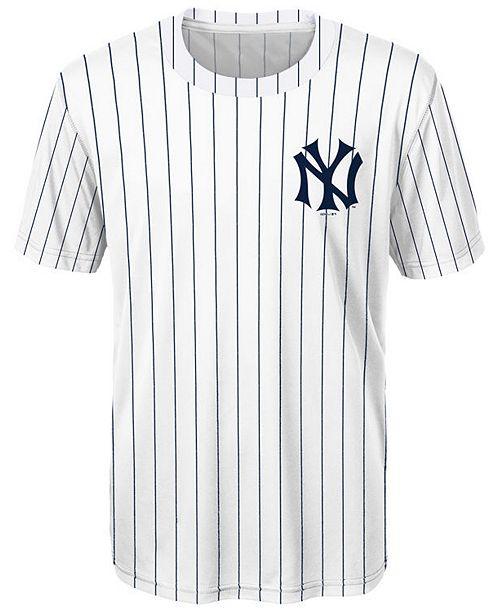 finest selection c9b83 b3134 Giancarlo Stanton New York Yankees Coop Poly Player T-Shirt, Big Boys (8-20)