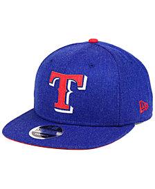 New Era Texas Rangers Heather Hype 9FIFTY Snapback Cap