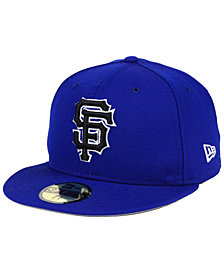 New Era San Francisco Giants Royal Pack 59FIFTY Fitted Cap