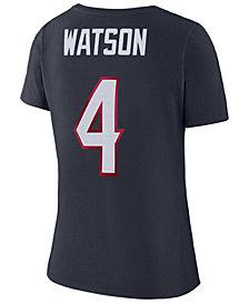 Nike Women's DeShaun Watson Houston Texans Player Pride 3.0 T-Shirt