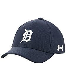 Under Armour Boys' Detroit Tigers Adjustable Blitzing Cap