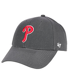 '47 Brand Philadelphia Phillies Charcoal MVP Cap