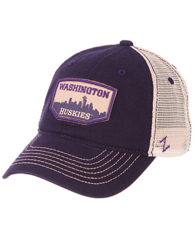 Zephyr Washington Huskies Trademark Adjustable Cap