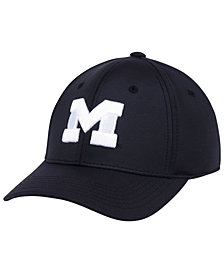 Top of the World Michigan Wolverines Phenom Flex Black White Cap