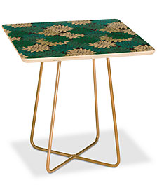 Deny Designs Holli Zollinger Flora Minted Square Side Table