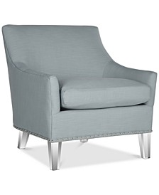 Kreter Club Chair with Nailhead Trim