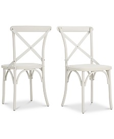 Sophia Farmhouse Dining Chairs (Set Of 2), Quick Ship