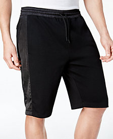 "ID Ideology Men's Mixed-Media 11"" Sweat Shorts"