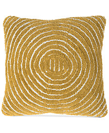 decorative bright iris pillows check pillow products sky modern abstract throw gold yellow decor