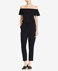 Lauren Ralph Lauren Off-The-Shoulder Jumpsuit