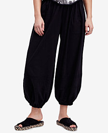 Free People No Thrills Cotton Jogger Pants