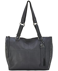 Silverlake Leather Shopper, Created for Macy's