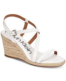 Calvin Klein Women's Bellemine Wedge Sandals