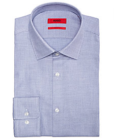 HUGO Men's Slim-Fit Birdseye Dress Shirt