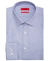 e588160c2 HUGO Men's Slim-Fit Birdseye Dress Shirt