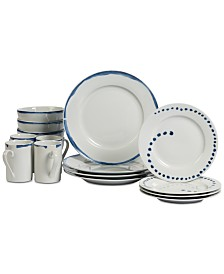 Tabletops Unlimited Isla 16-Pc. Dinnerware Set, Service for 4