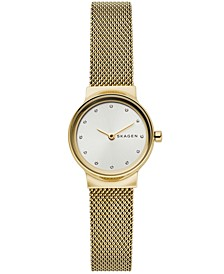Women's Freja Gold-Tone Stainless Steel Mesh Bracelet Watch 26mm