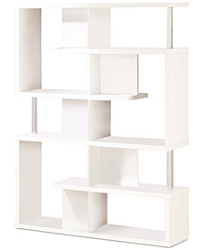 Neesa Large Bookcase, Quick Ship