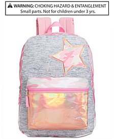 Global Design Concepts Little & Big Girls Camo-Star Backpack