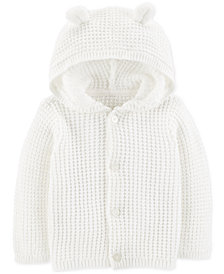 Carter's Baby Boys or Girls Hooded Cardigan Sweater