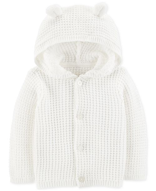 f849c9fa1 Carter s Baby Boys or Girls Hooded Cardigan Sweater   Reviews ...