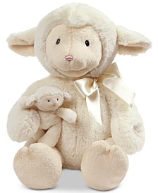 Baby Boys or Girls Nursery Time Plush Lamb