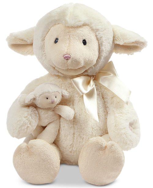 Gund® Baby Boys or Girls Nursery Time Plush Lamb