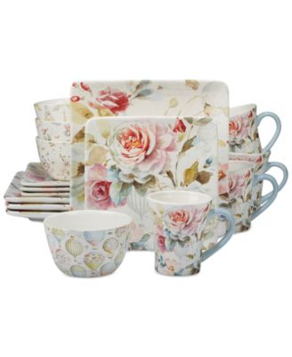Beautiful Romance 16-Pc. Dinnerware Set, Service for 4