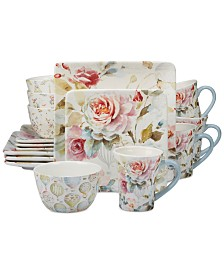Certified International Beautiful Romance 16-Pc. Dinnerware Set, Service for 4