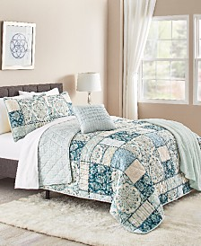 Tricia 5-Pc. Reversible Quilt Sets