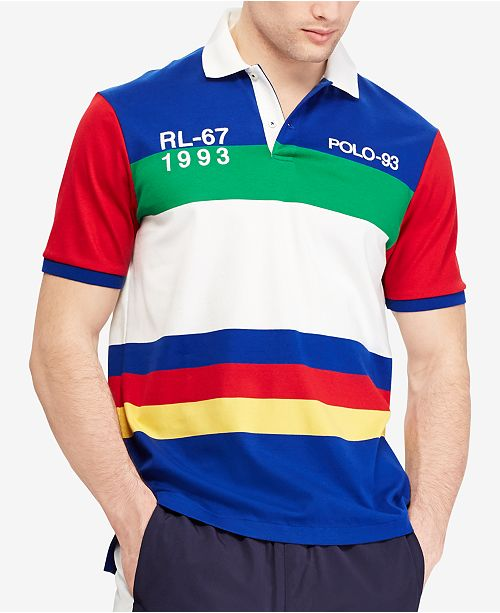 d86db1fc43da8 Polo Ralph Lauren Men s CP-93 Classic-Fit Polo Shirt, Created for ...