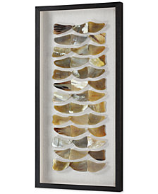 Uttermost Nadja Bone Shadow Box Wall Art