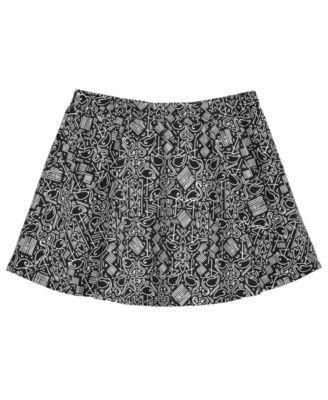 Little Girls Flamingo-Print Scooter Skirt, Created for Macy's