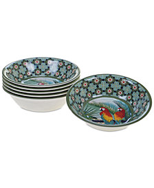 Certified International Paradise All Purpose Bowls, Set of 6