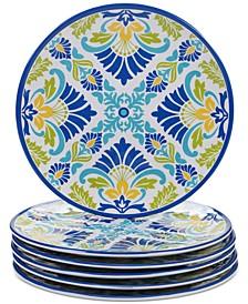 Martinique Salad Plates, Set of 6