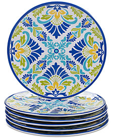 Certified International Martinique Salad Plates, Set of 6