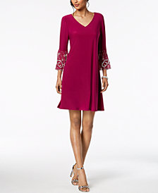 MSK Embellished Shift Dress