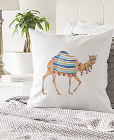 "Cathy's Concepts Camel 16"" Square Decorative Pillow"