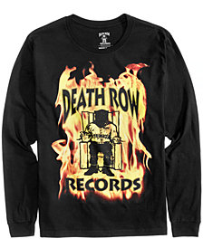 New World Men's Long Sleeve Death Row Records T-Shirt