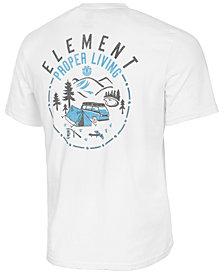 Element Men's Proper Living Logo-Print T-Shirt