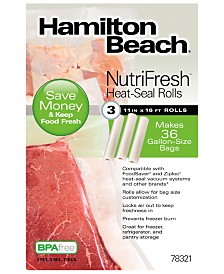 Hamilton Beach® NutriFresh™ Heat-Seal Rolls