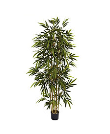 Nearly Natural 6' Artificial Bamboo Tree