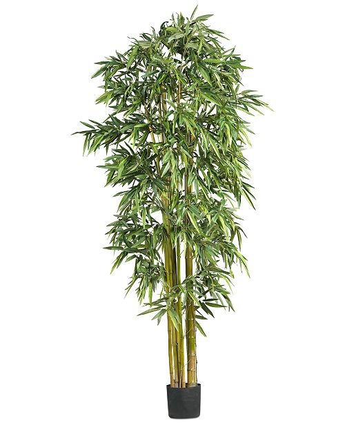 Nearly Natural 7' Artificial Big Bamboo Tree